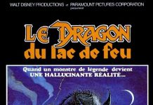 walt disney company walt disney pictures affiche dragon lac feu poster dragonslayer