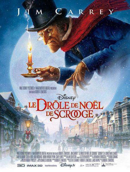 walt disney pictures affiche drole noel scrooge poster christmas carol