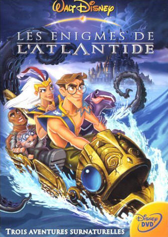 walt disney animation studio disneytoon studios walt disney television animation affiche enigme atlantide poster atlantis milo return