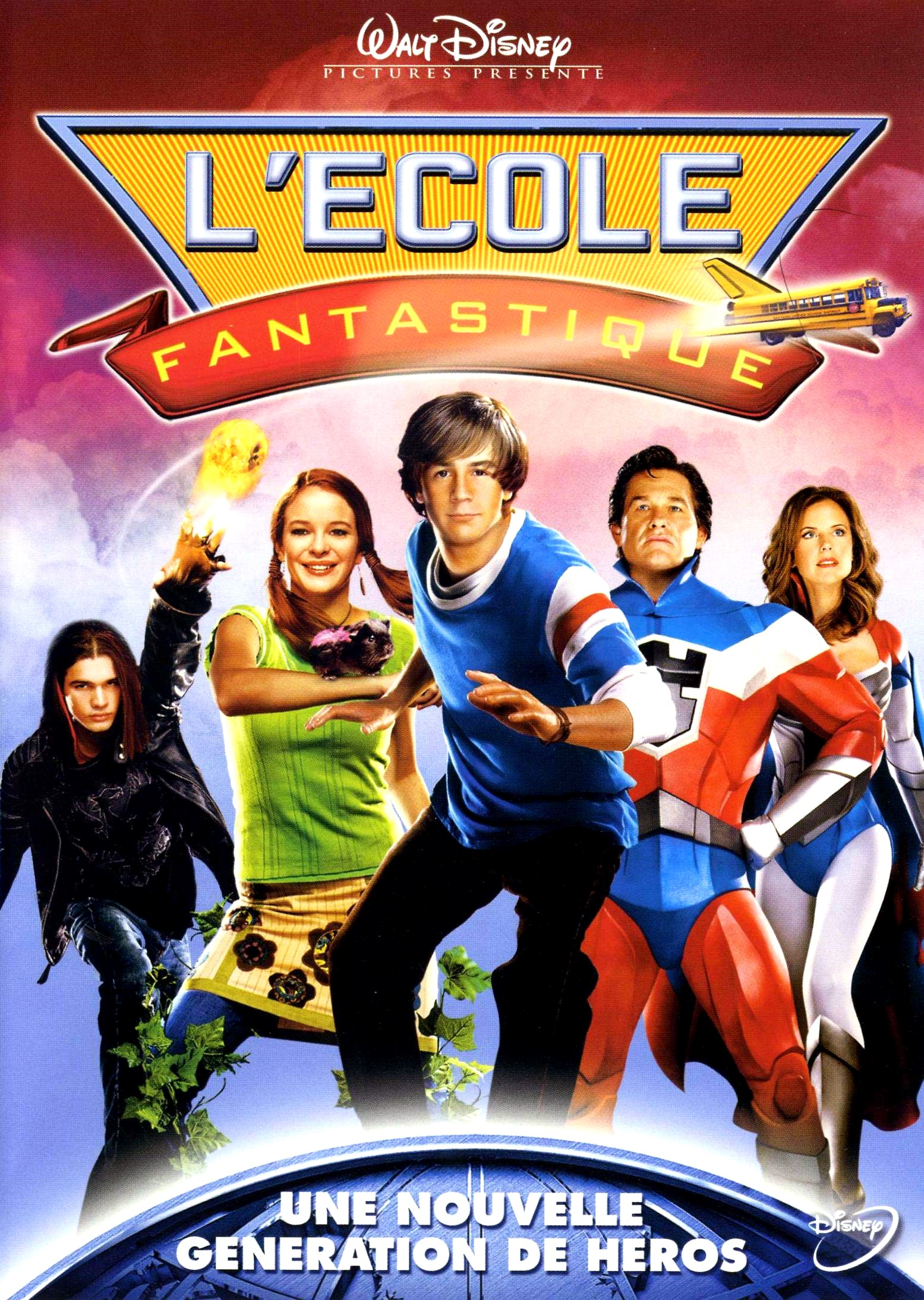 walt disney company walt disney pictures affiche ecole fantastique poster sky high