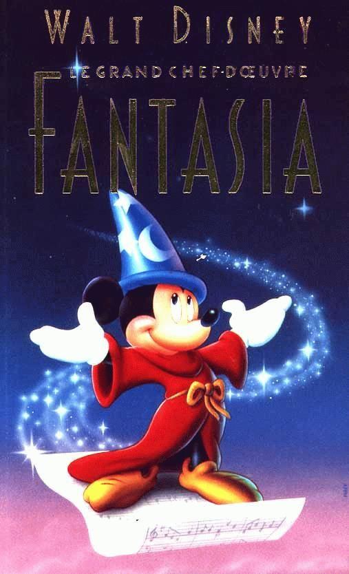 walt disney animation affiche fantasia poster