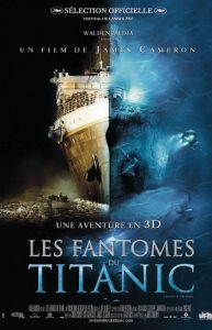 walt disney company walt disney pictures affiche fantomes titanic poster ghosts abyss