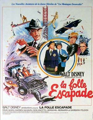 walt disney company walt disney pictures, affiche folle escapade poster no deposit no return