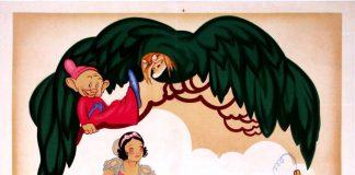 disney animation affiche poster blanche-neige sept nains snow white seven dwarfs