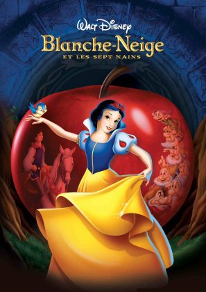 disney animation affiche poster blanche-neige sept nains snow white seven dwarfs