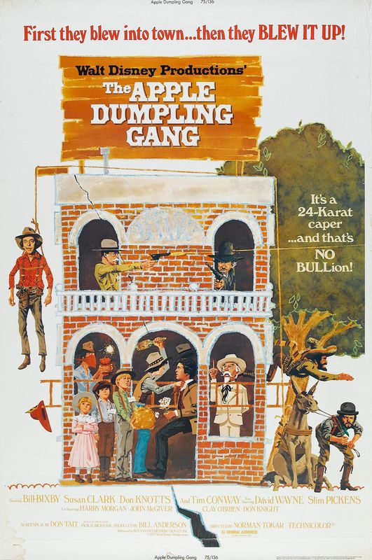 walt disney company walt disney pictures affiche gang chaussons pommes poster apple dumpling gang