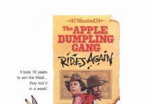 walt disney company walt disney pictures affiche gang chaussons pommes poster apple dumpling gang rides again