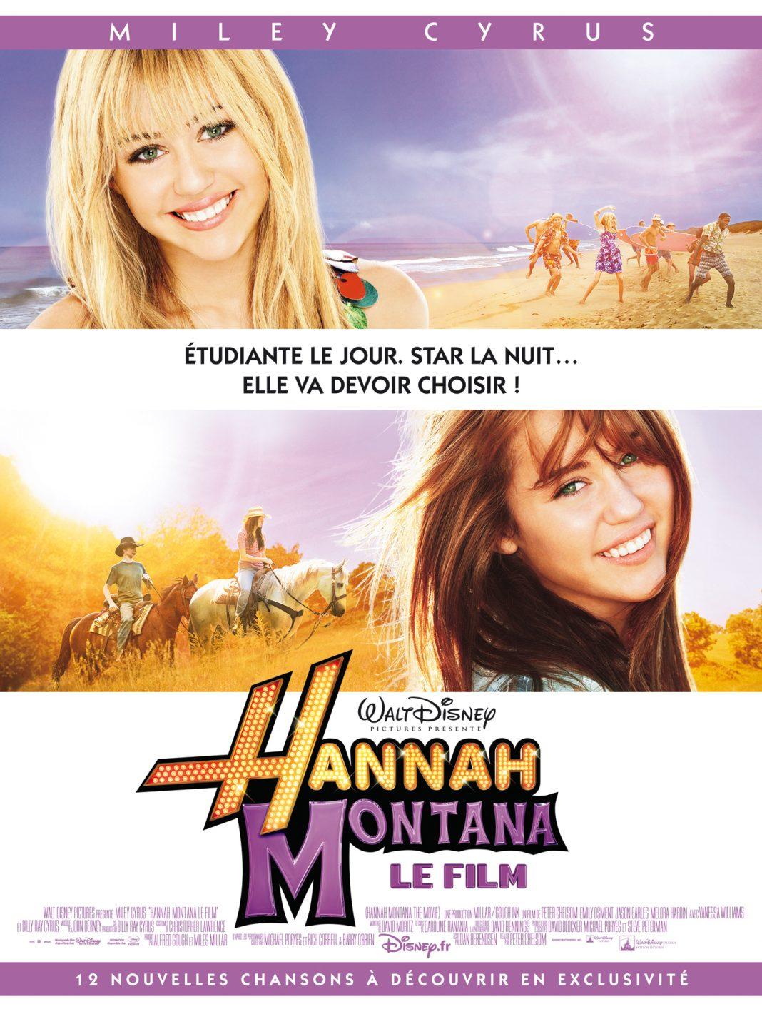 walt disney company walt disney pictures affiche hannah montana film poster movie