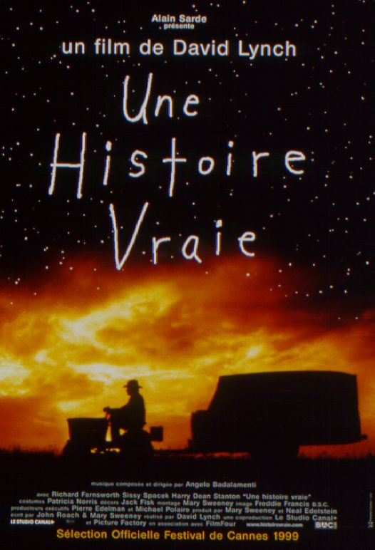 walt disney company walt disney pictures affiche histoire vraie poster straight story