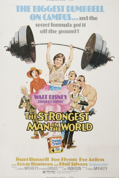 walt disney company walt disney pictures affiche homme plus fort monde poster strongest man world