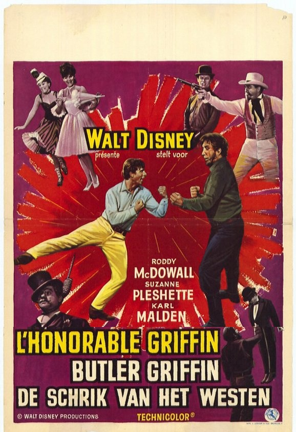 walt disney company walt disney pictures affiche honorable griffin poster adventures Bullwhip Griffin