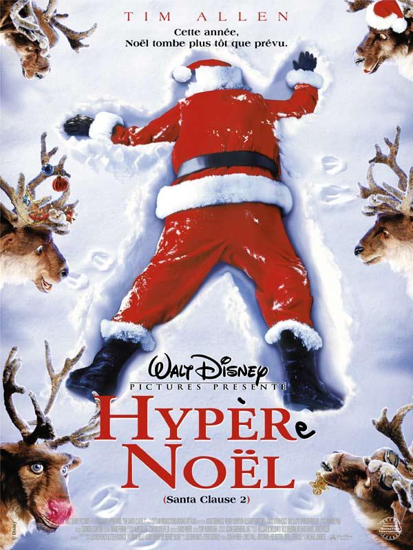 walt disney company walt disney pictures affiche hyper noel poster santa clause 2