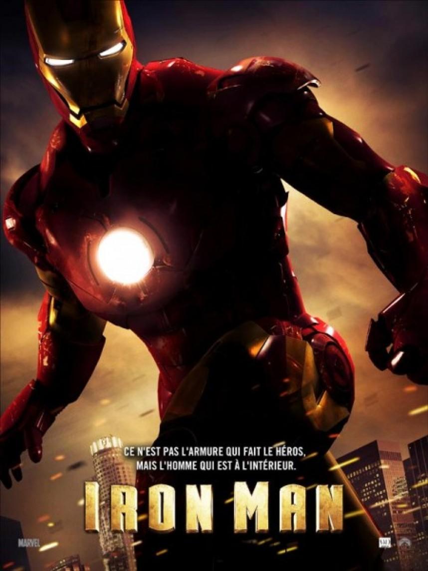 walt disney marvel studios affiche iron man poster