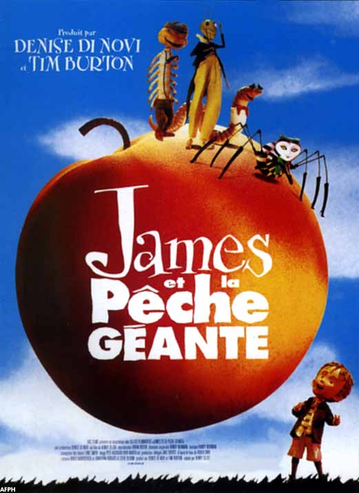 walt disney touchstone pictures affiche james peche geante poster james giant peach