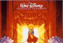 walt disney animation affiche kuzco empereur megalo poster emperor new groove