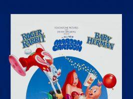 Walt roger rabbit Disney pictures affiche poster lapin looping roller coaster rabbit