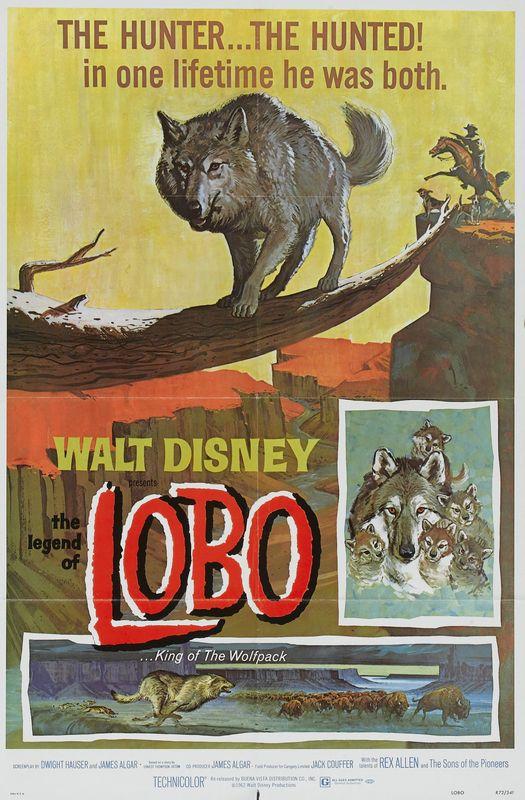 walt disney company walt disney pictures affiche legende lobo poster legend lobo