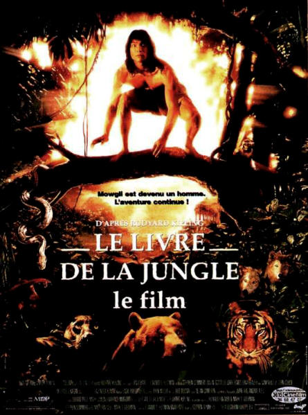 walt disney company walt disney pictures affiche livre jungle film poster rudyard kipling jungle book