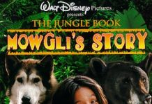 walt disney company walt disney pictures affiche livre jungle histoire mowgli poster jungle book mowgli story