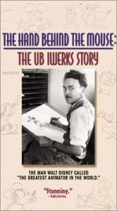 walt disney company walt disney pictures affiche main derriere souris histoire ub iwerks poster hand behind mouse ub iwerks story