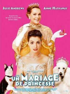 walt disney company walt disney pictures affiche mariage princesse poster princess diaries 2 royal engagement