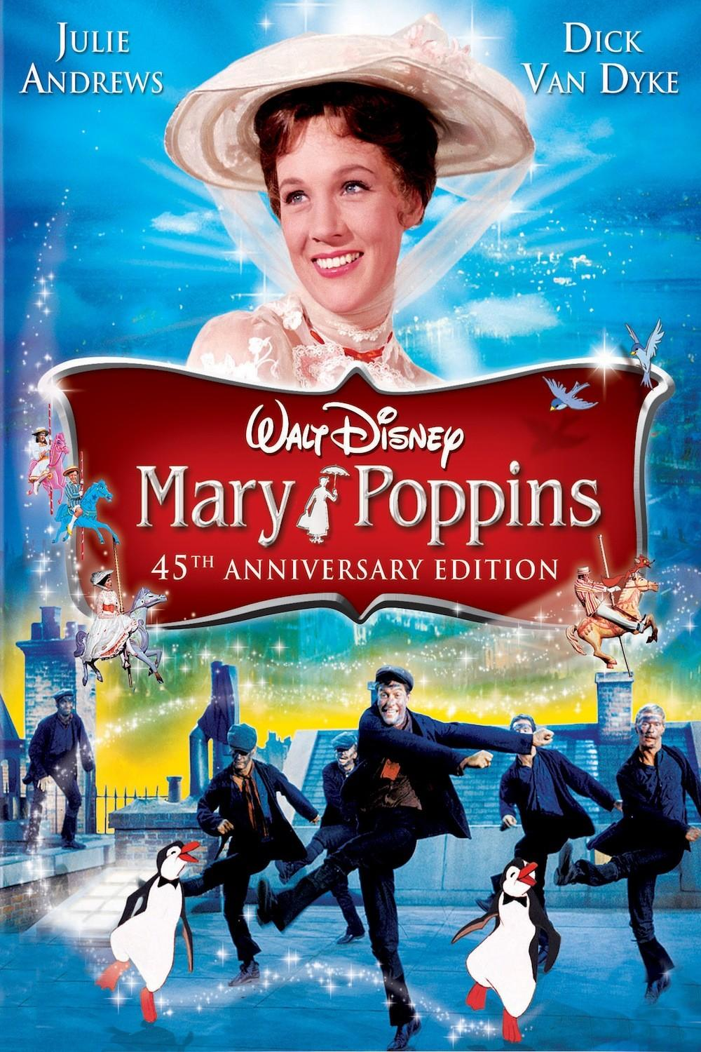 walt disney animation affiche mary poppins poster