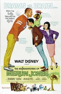 walt disne company walt disney pictures affiche mesaventures merlin jones poste misadventures merlin jones