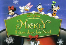 walt disney animation disneytoon studios affiche mickey deux fois noel poster mickey twice upon christmas