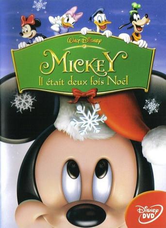 walt disney animation disneytoon studios affiche mickey deux fois noel poster mickey twice upon christmas