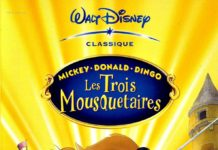 walt disney animation disneytoon studios affiche mickey donald dingo trois mousquetaires poster mickey donald goofy three musketeers