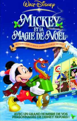 affiche mickey magie noel magical christmas poster disney television animation