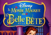 walt disney animation disney toon studios affiche monde magique belle bete poster beauty beast bemme's magical world