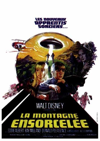 walt disney company walt disney pictures affiche montagne ensorcelee poster escape withch mountain