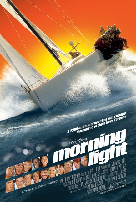 affiche morning light poster documentaire Walt Dinsey Pictures.