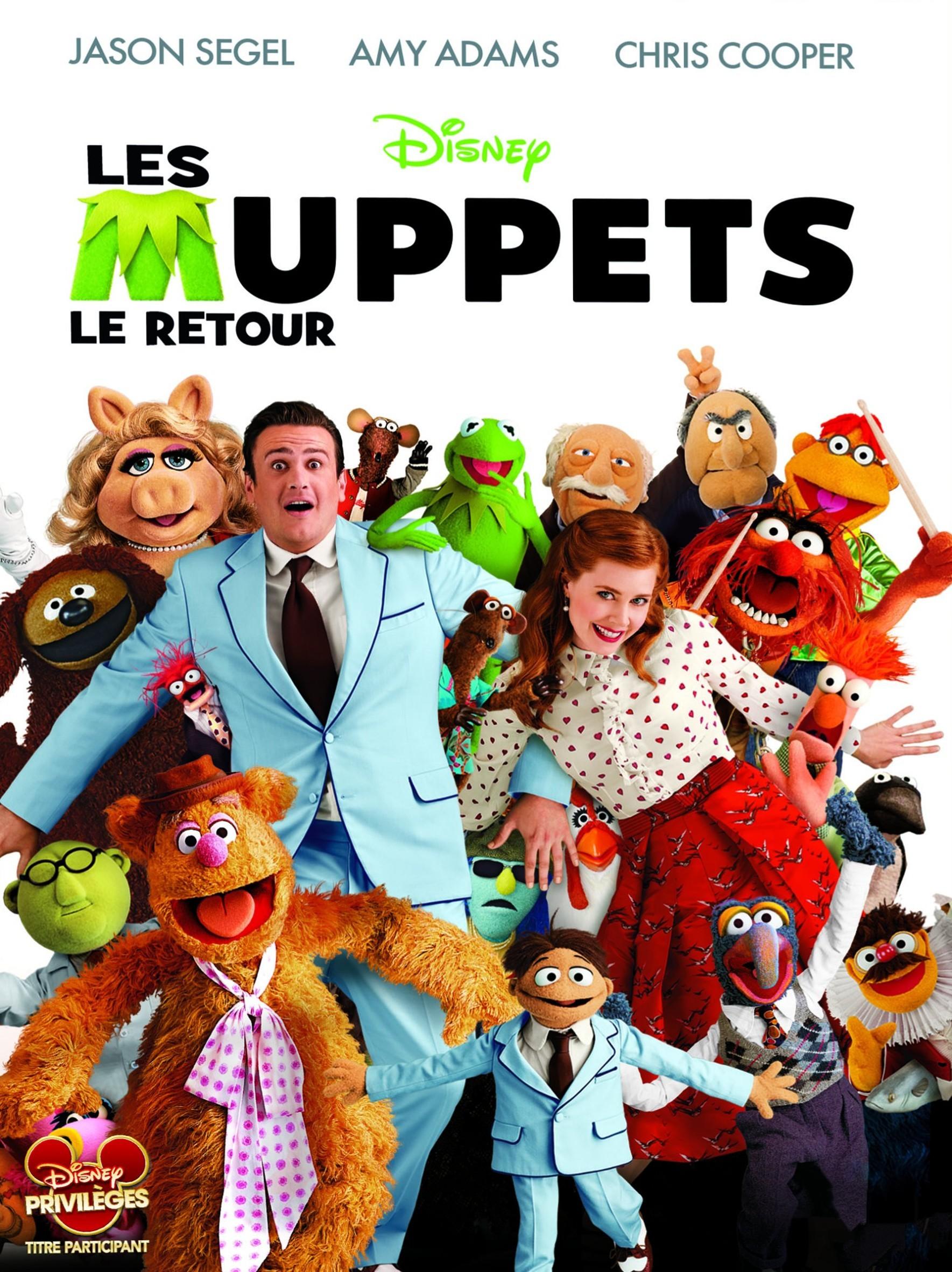 walt disney company walt disney pictures muppets studios affiche muppets retour poster