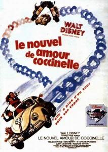 walt disney company walt disney pictures affiche nouvel amour coccinelle poster herbie rides again