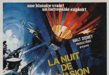 walt disney company walt disney pictures affiche nuit evasion poster night crossing