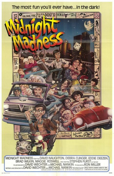 walt disney pictures affiche nuit folle folle poster midnight madness
