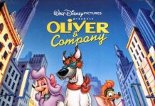 walt disney animations affiche oliver compagnie poster oliver company