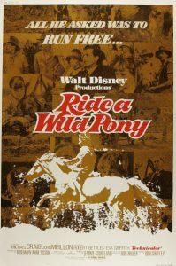 walt disney company walt disney pictures affiche ou passe poney poster ride wild pony