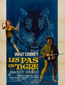 walt disney company walt disney pictures affiche pas tigre poster tiger walks