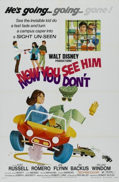 walt disney company walt disney pictures affiche pas vu pas pris poster now see him now don't