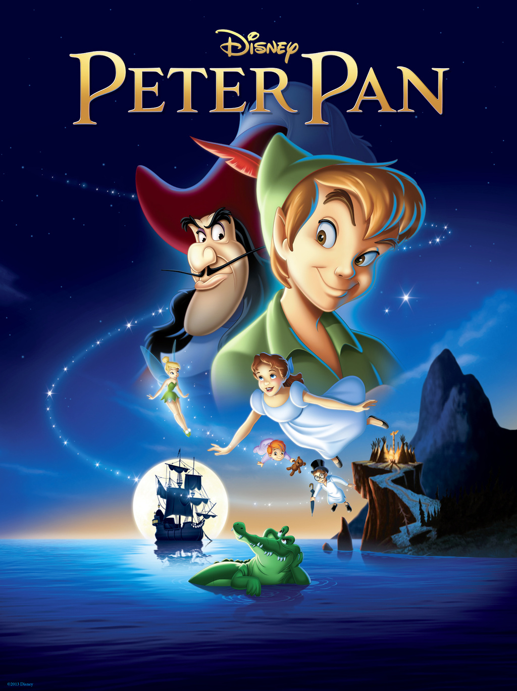 walt disney animation affiche peter pan poster
