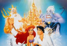 walt disney animation affiche petite sirene poster little mermaid