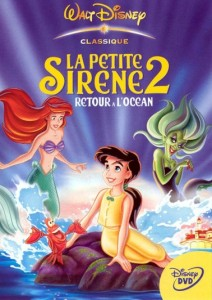 walt disney animation disneytoon studios affiche petite sirene 2 retour ocean poster little mermaid 2 return sea