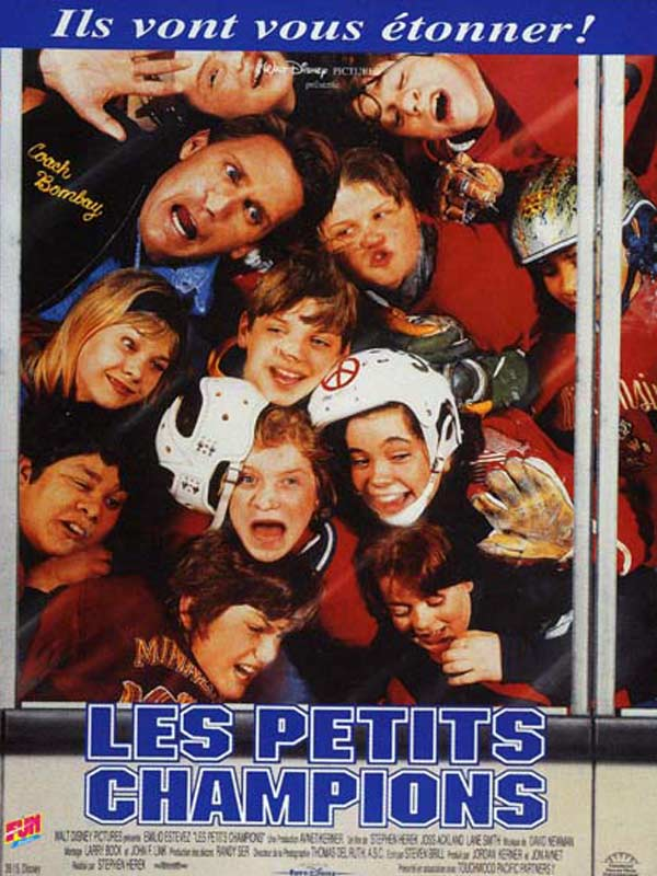 walt disney company walt disney pictures affiche petits champions poster mighty ducks