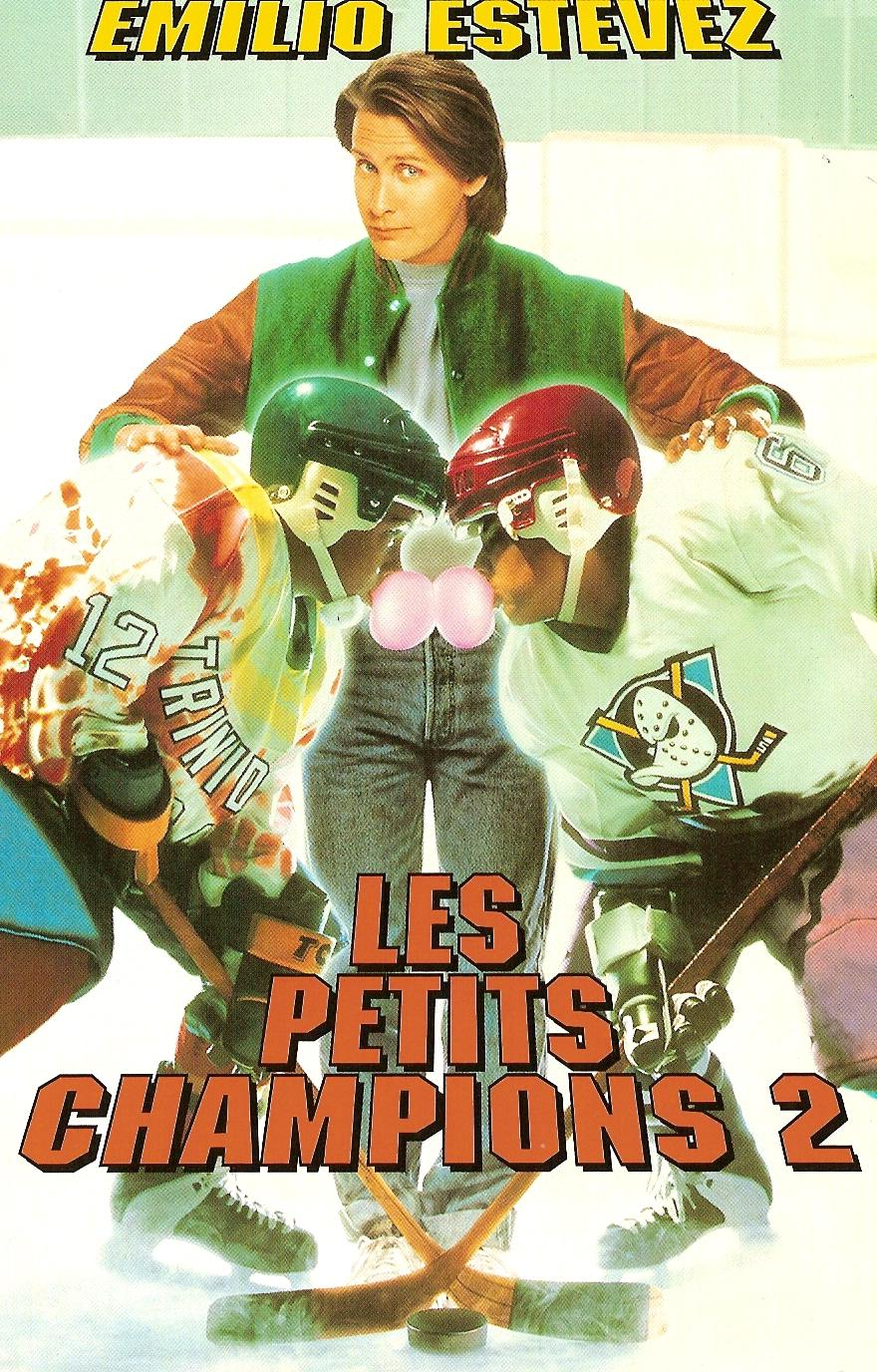 walt disney company walt disney pictures affiche petits champions 2 poster D2 mighty ducks