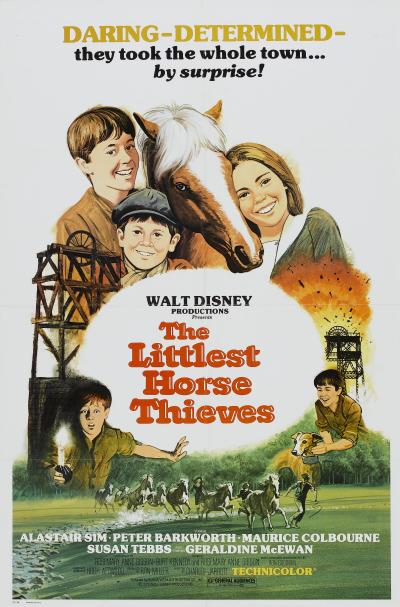 walt disney company walt disney pictures affiche petits voleurs chevaux poster littlest horse thieves poster escape dark