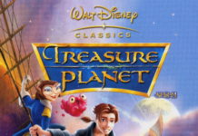 walt disney animation affiche planete tresor poster treasure planet