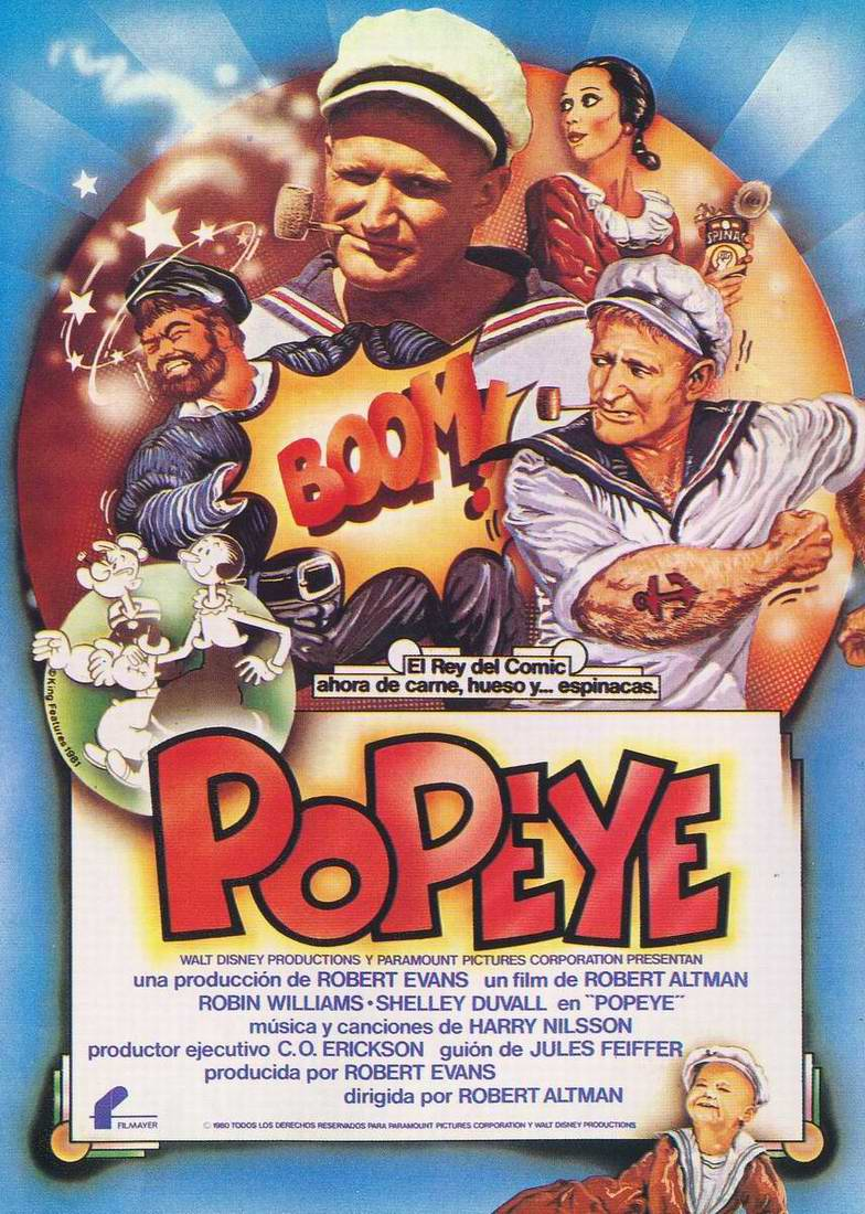 walt disney company walt disney animation affiche popeye poster